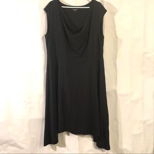 Eileen Fisher Plus Black Dress